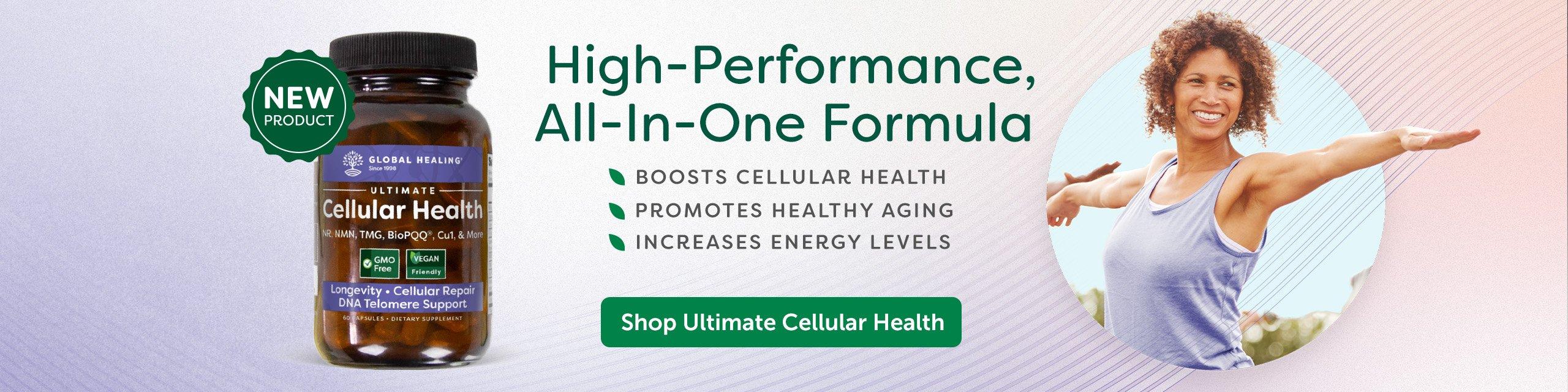 A bottle of Cellular Health