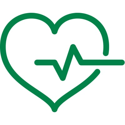 heart and pulse icon