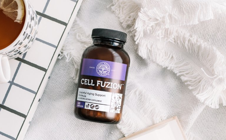 A bottle of Cell Fuzion®