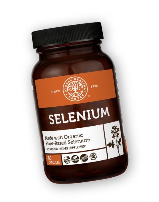 A bottle of Selenium.