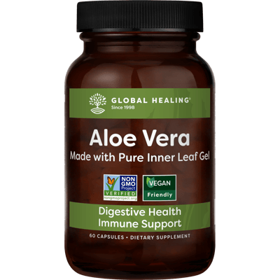 Aloe Vera (60 Capsules) - Bottle
