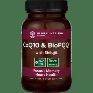 CoQ10 & BioPQQ | Enhanced w/Shilajit | Helps Longevity | 60 capsules