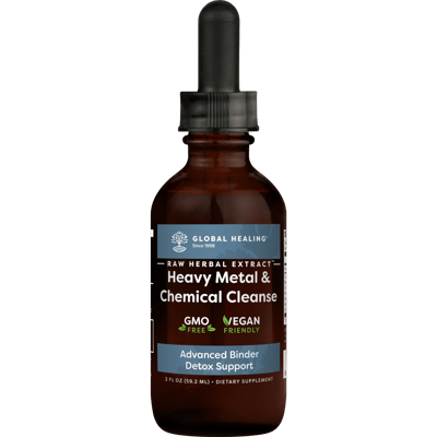 Heavy Metal & Chemical Cleanse (2 fl oz) - Bottle