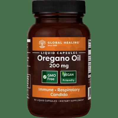Oregano Oil (60 Capsules) - Bottle