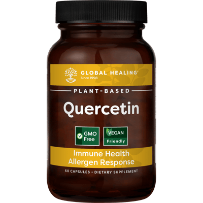 Plant-Based Quercetin (60 Capsules) - Bottle