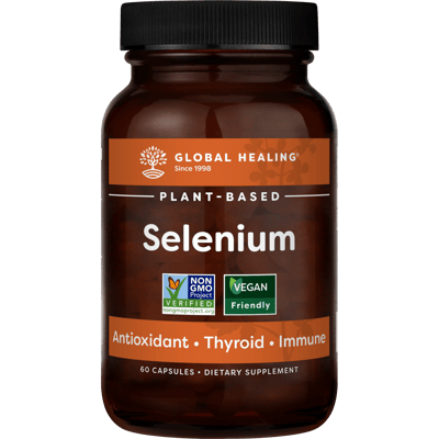 Selenium (60 Capsules) - Bottle