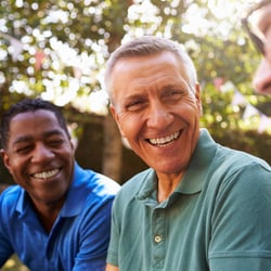 Absorbable Formula – Group of male friends chatting and laughing